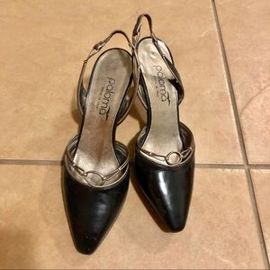 Vintage Paloma Made in Italy Slingback Heels 7